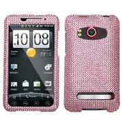 Insten® Diamante Protector Case For HTC EVO 4G, Pink