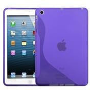 Insten® Candy Skin Cover For iPad Mini/iPad Mini 2, Purple S-Shape