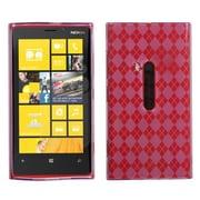 Insten® Argyle Candy Skin Cover For Nokia Lumia 920, Purple