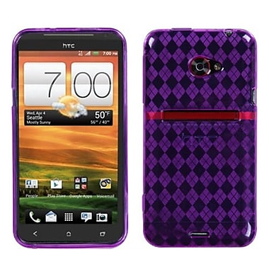 Insten® Argyle Candy Skin Covers For HTC EVO 4G LTE