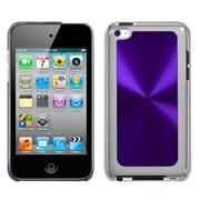 Insten® Cosmo Back Protector Cover For iPod Touch 4th Gen, Purple