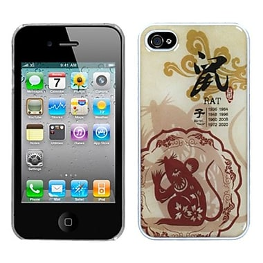Insten® Chinese Zodiac Collection Dream Back Protector Cover F/iPhone 4/4S, Rat