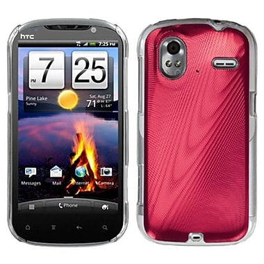 Insten® Back Protector Case For HTC Amaze 4G, Red Cosmo