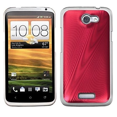 Insten® Back Protector Cover For HTC-One X/X+, Red Cosmo