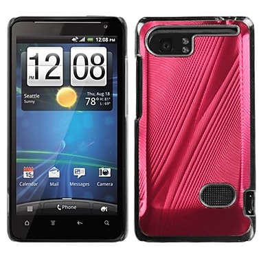 Insten® Back Protector Cover For HTC Vivid, Red Cosmo