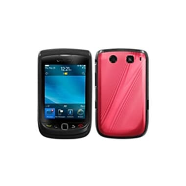 Insten® Protector Cover For BlackBerry 9800/9810, Red Cosmo