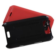 Insten® Protector Cover For LG MS840 Connect 4G/LS840 Viper, Red Inverse Fusion