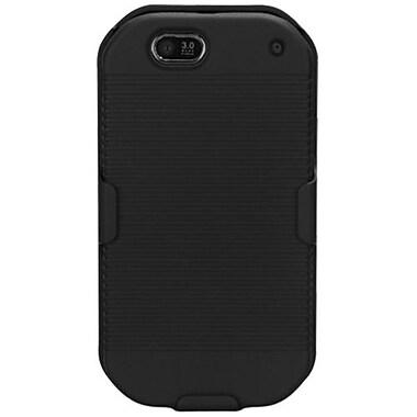 Insten® Hybrid Holster Case For Motorola i867, Black