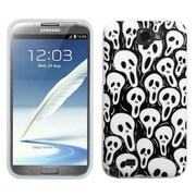 Insten® Candy Skin Cover For Samsung Galaxy Note II, Screaming Ghosts