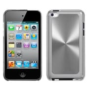 Insten® Cosmo Back Protector Cover For iPod Touch 4th Gen, Silver