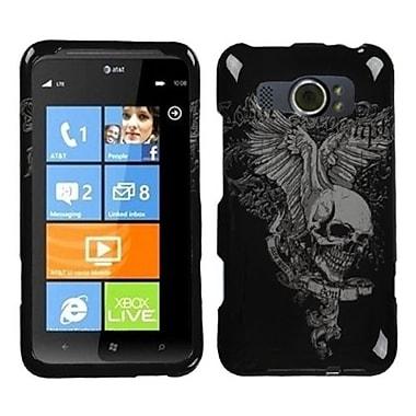 Insten® Protector Case For HTC Titan II, Skull Wing