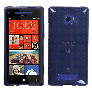 Insten® Argyle Flexible Protector Case For HTC Windows Phone 8X, Smoke