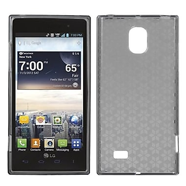 Insten® Candy Skin Cover For LG VS930 Spectrum 2, Smoke Hexagon