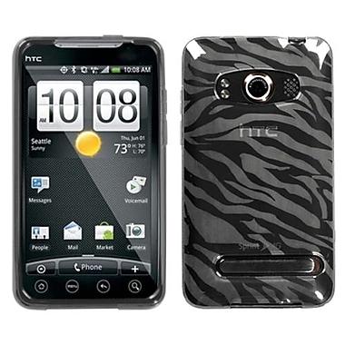 Insten® Candy Skin Case For HTC EVO 4G, Smoke Zebra