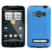 Insten® Faceplate Case For HTC EVO 4G, Baby Blue/Black