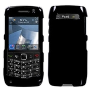 Insten® Phone Faceplate Case For BlackBerry 9100/Pearl 3G, Solid Black