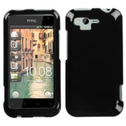 Insten® Faceplate Case For HTC ADR6330 Rhyme, Solid Black
