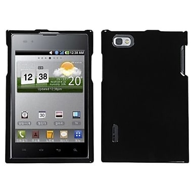 Insten® Protector Cover For LG VS950 Optimus Vu/VS950 Intuition, Solid Black