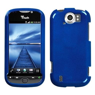 Insten® Snap-in Faceplate Case For HTC myTouch 4G Slide, Solid Dark Blue