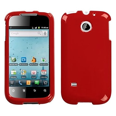 Insten® Solid Phone Faceplate Case For Huawei M865 Ascend II, Flaming Red