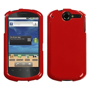 Insten® Phone Protector Case For Huawei U8800 Impulse 4G, Solid Flaming Red