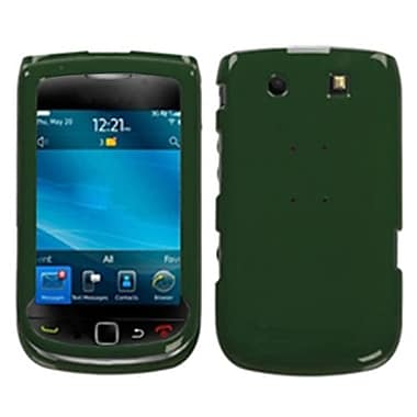 Insten® Phone Protector Cover For BlackBerry 9810 (Torch 4G)/9800, Solid Forest-Green