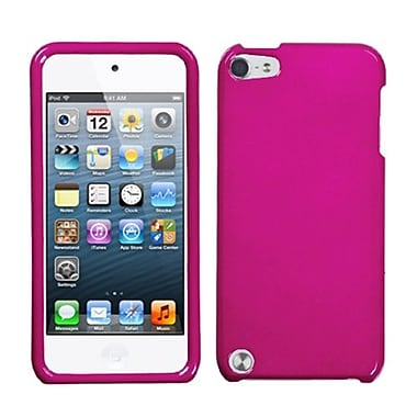 Insten® Phone Protector Case For iPod Touch 5th Gen, Solid Hot-Pink