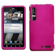 Insten® Faceplate Case For Motorola XT862 Droid 3, Solid Hot-Pink