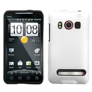 Insten® Faceplate Case For HTC EVO 4G, Solid Ivory White Fusion