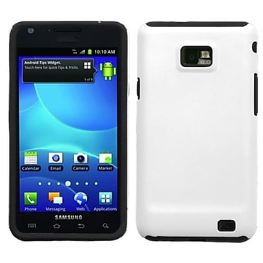 Insten® Fusion Faceplate Case F/Samsung I777 (Galaxy S II) AT&T, Solid Ivory White