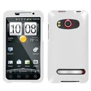 Insten® Faceplate Case For HTC EVO 4G, Solid Ivory White