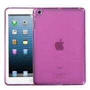 Insten® Candy Skin Cover For iPad Mini/iPad Mini 2, Solid Purple
