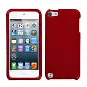 Insten® Phone Protector Case For iPod Touch 5th Gen, Solid Red