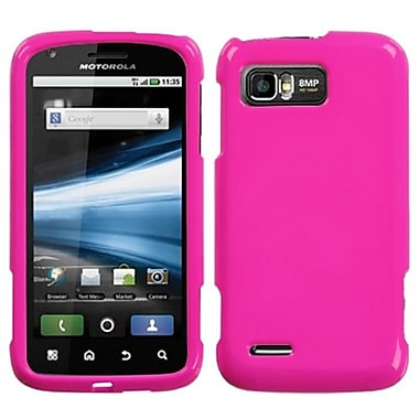 Insten® Faceplate Case For Motorola MB865/Atrix 2, Solid Shocking Pink