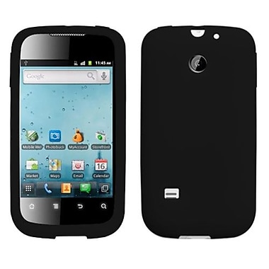 Insten® Solid Skin Cover For Huawei M865/U8651T/U8651S, Black