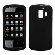 Insten® Solid Skin Cover For Huawei U8665 Fusion 2, Black