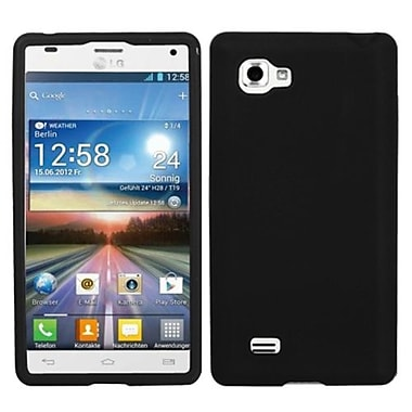 Insten® Skin Case For LG P880 Optimus 4X HD, Solid Black