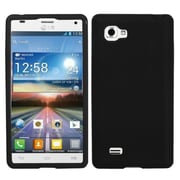 Insten® Skin Case For LG P880 Optimus 4X HD, Solid Black