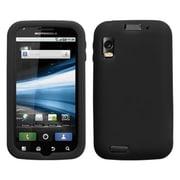 Insten® Skin Case For Motorola MB860 Olympus Atrix 4G, Solid Black