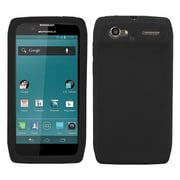 Insten® Skin Cover For Motorola XT881 Electrify 2, Solid Black