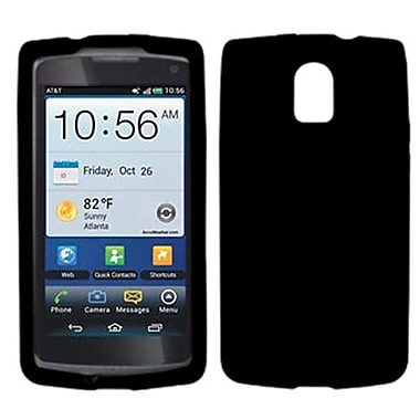 Insten® Skin Case For Pantech P9090 Magnus, Solid Black
