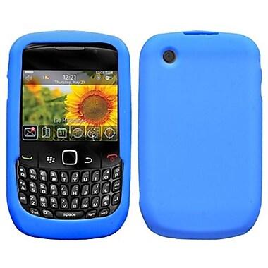 Insten® Solid Skin Cover For BlackBerry 8530/9300, Dark Blue