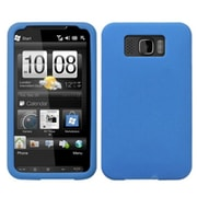 Insten® Skin Cover For HTC HD2, Solid Dark Blue