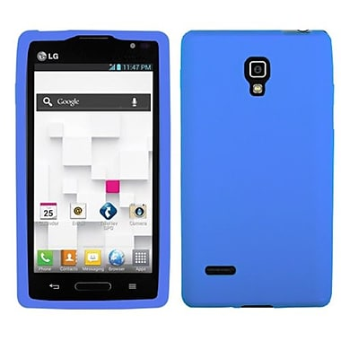 Insten® Skin Case For LG P769 Optimus L9, Solid Dark Blue