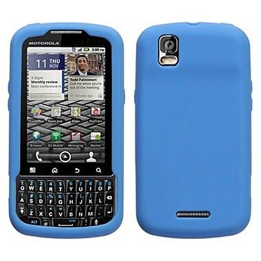 Insten® Skin Cover For Motorola XT610 Droid Pro, Solid Dark Blue