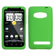 Insten® Skin Case For HTC EVO 4G, Green
