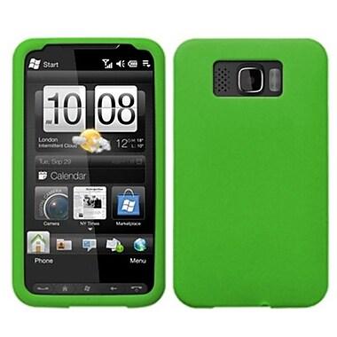 Insten® Skin Cover For HTC HD2, Solid Dark Green
