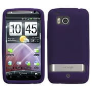Insten® Skin Case For HTC ThunderBolt/Droid Incredible HD, Purple