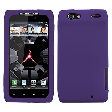 Insten® Skin Cover For Motorola XT912 Droid RAZR Verizon, Dr Purple