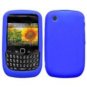 Insten® Soft Silicone Skin Case For RIM BlackBerry 8520, Electric Blue